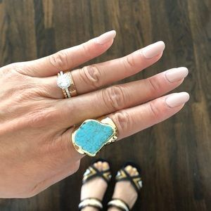 Jewelry - Turquoise Gold Ring